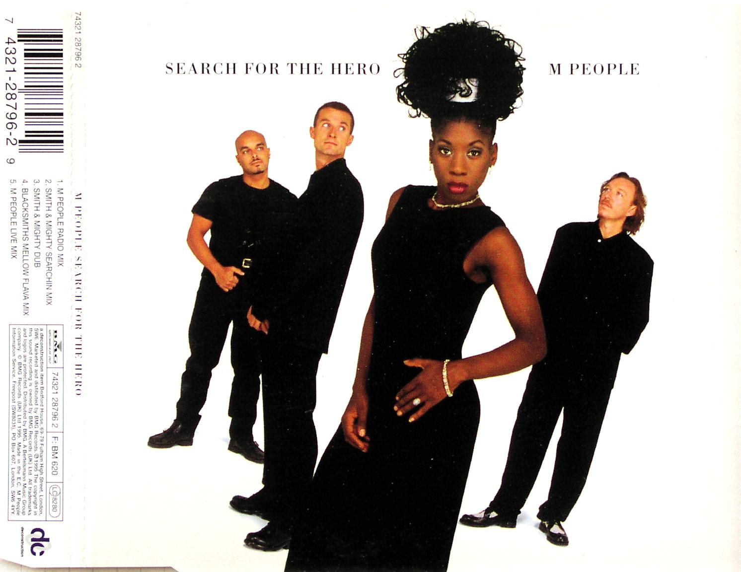 M PEOPLE - Search For The Hero - CD Maxi