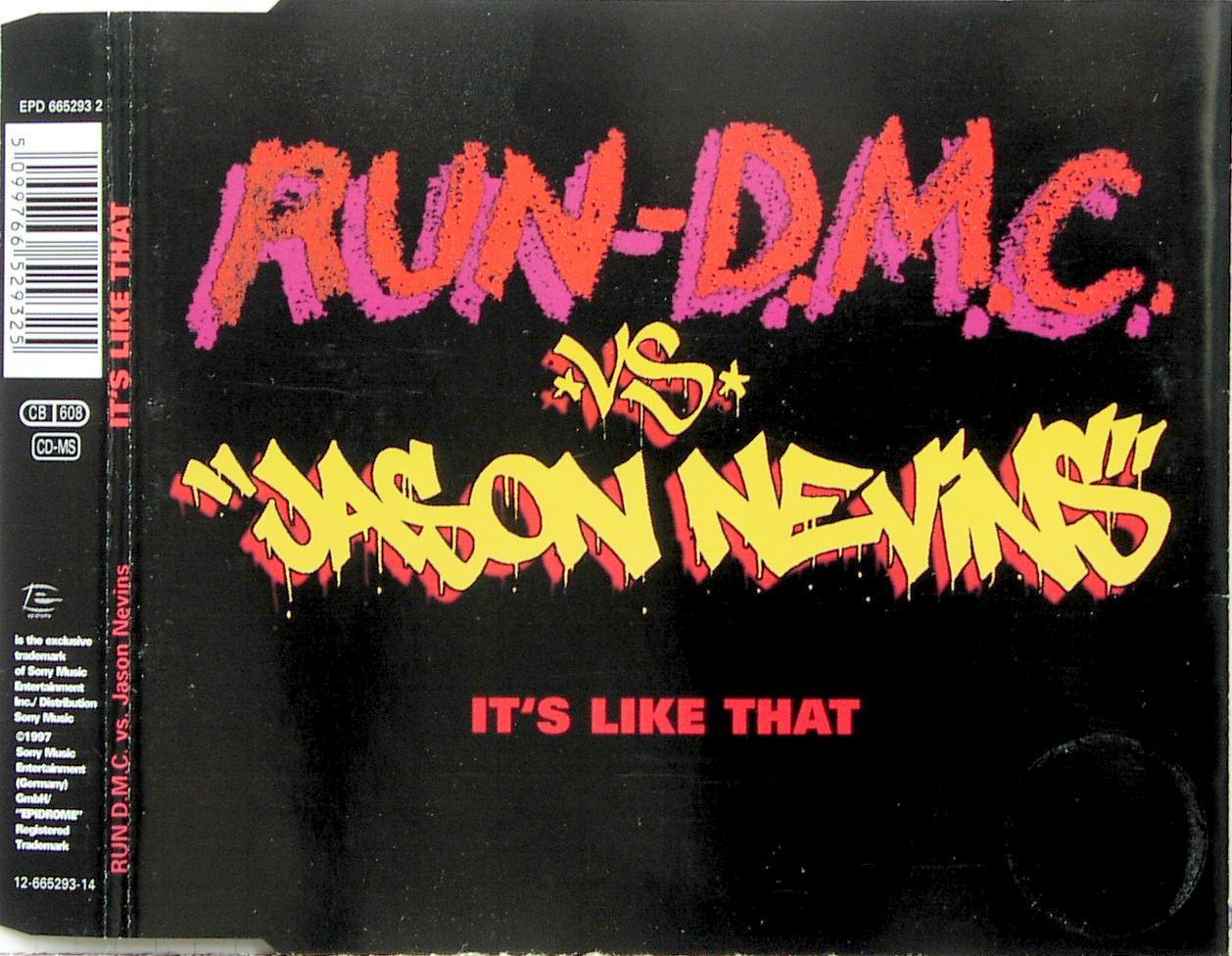 RUN DMC VS. NEVINS, JASON - It's Like That - CD Maxi
