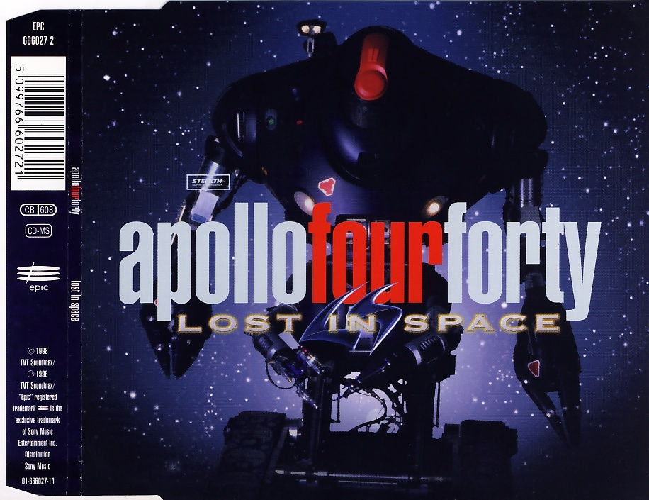 APOLLO FOUR FORTY - Lost In Space - CD Maxi