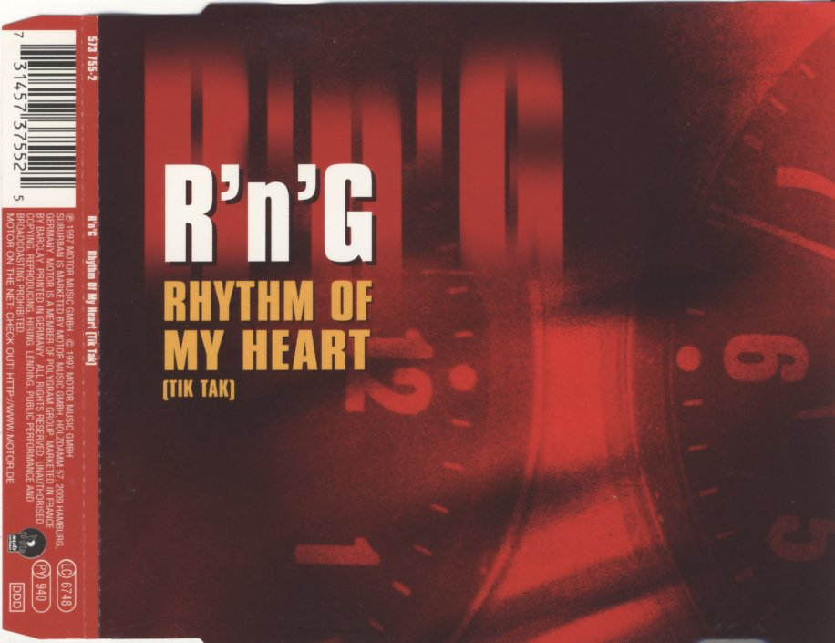 R'N'G - Rhythm Of My Heart (Tic Tac) - CD Maxi