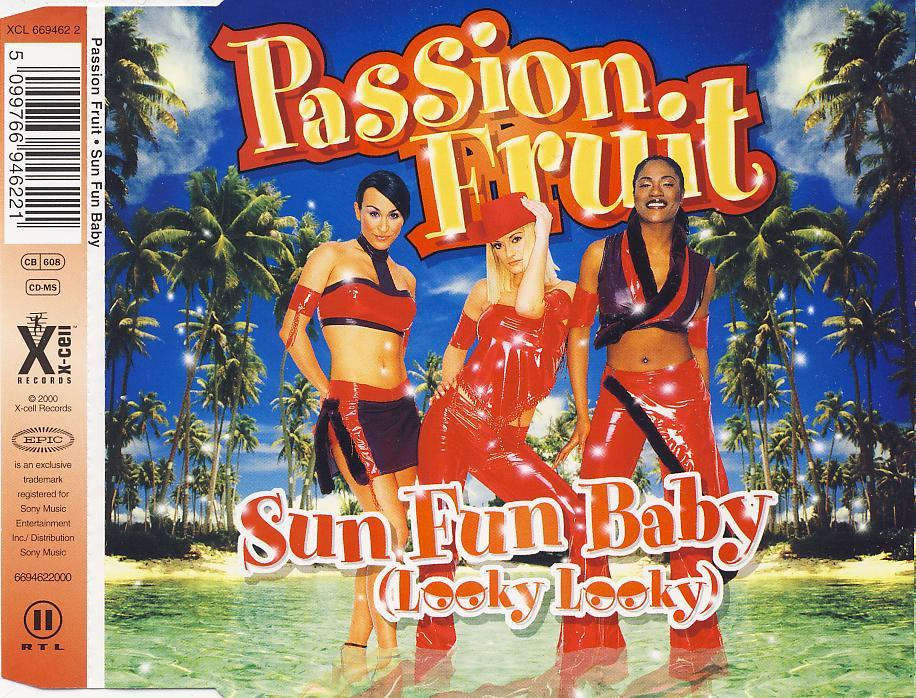 PASSION FRUIT - Sun Fun Baby (Looky Looky) - CD Maxi