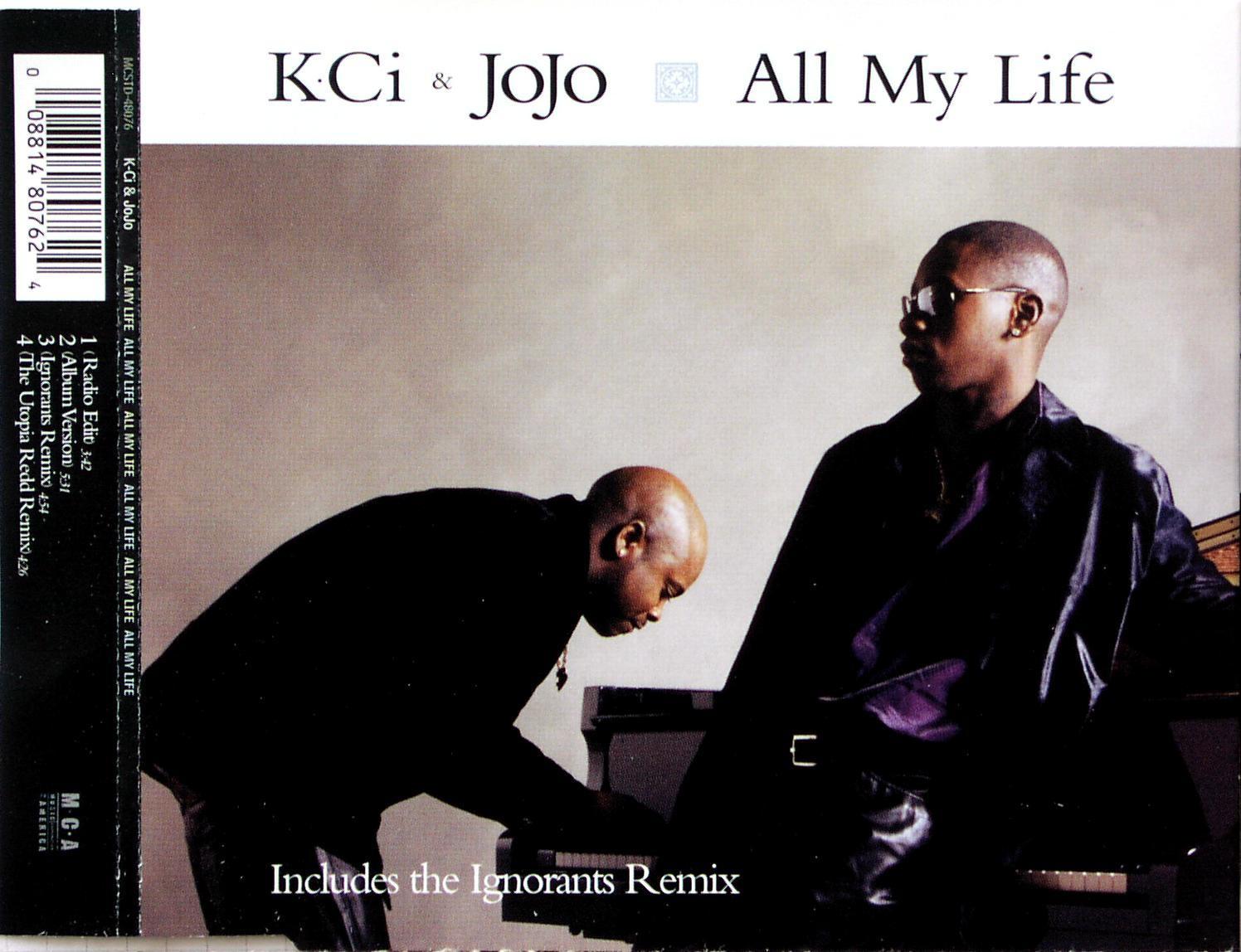 K-CI & JOJO - All My Life - MCD