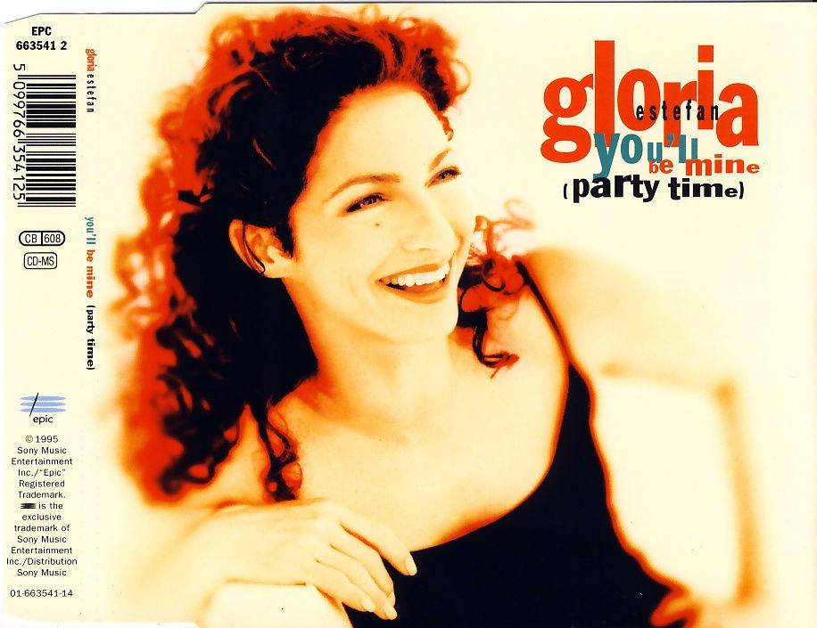 ESTEFAN, GLORIA - You'll Be Mine (Party Time) - MCD