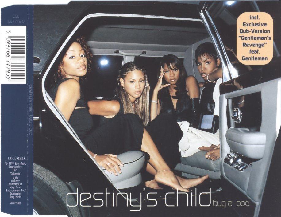 DESTINY'S CHILD - Bug A Boo - MCD