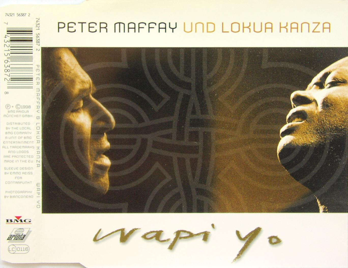 MAFFAY, PETER & LOKUA KANZA - Wapi Yo - MCD