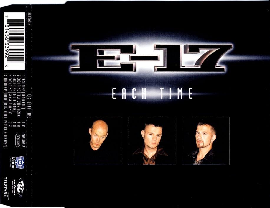 E-17 - Each Time - CD Maxi