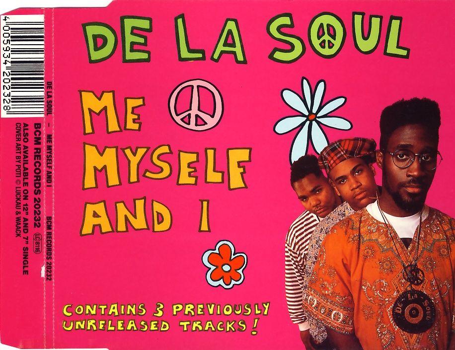 DE LA SOUL - Me Myself And I - CD Maxi