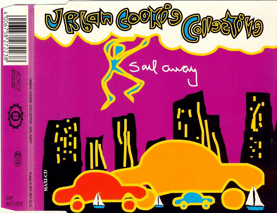 URBAN COOKIE COLLECTIVE - Sail Away - CD Maxi