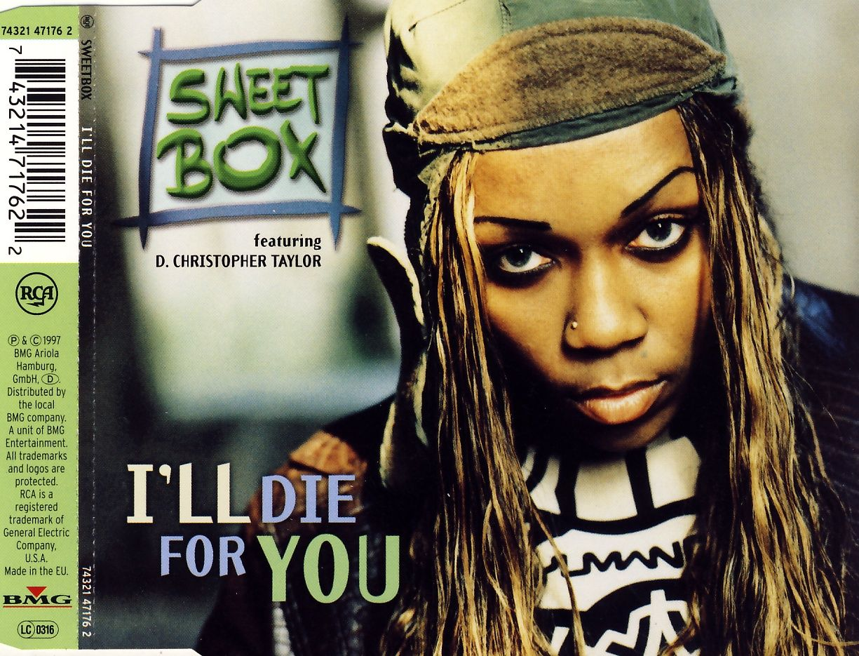 SWEETBOX - I'll Die For You - CD Maxi