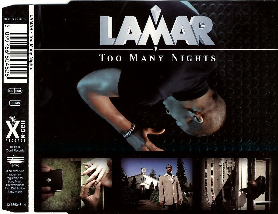 LAMAR - Too Many Nights - CD Maxi