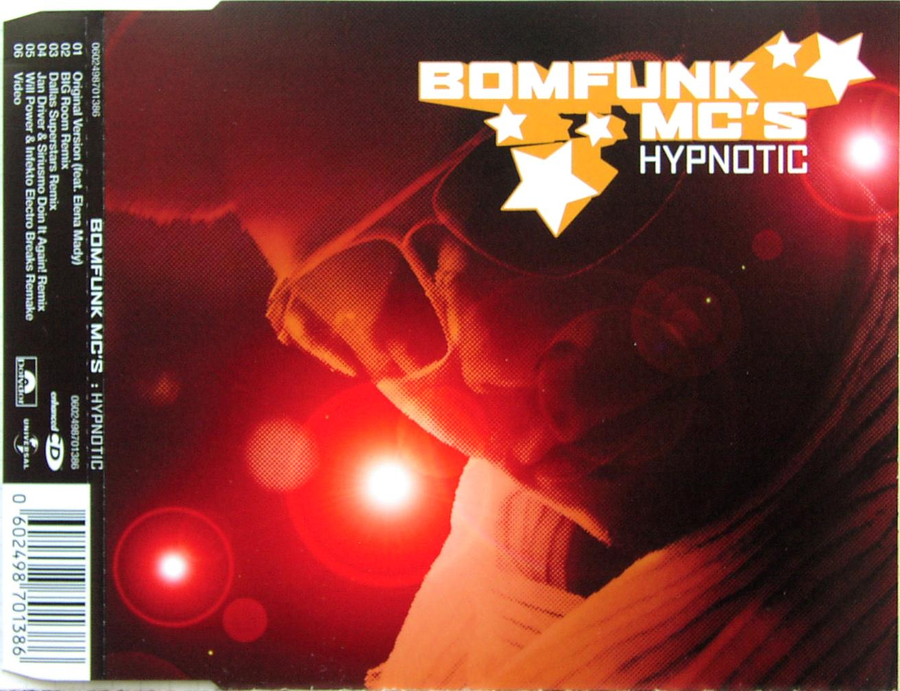 BOMFUNK MC'S - Hypnotic - CD Maxi