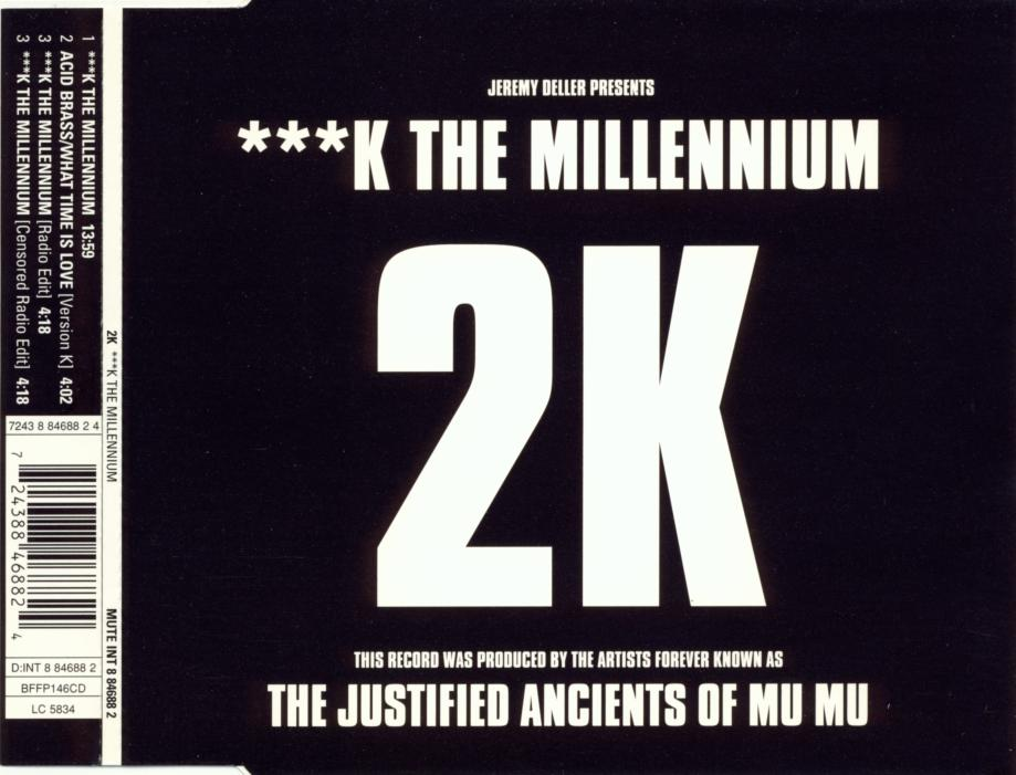 2K - Fuck The Millenium - CD Maxi