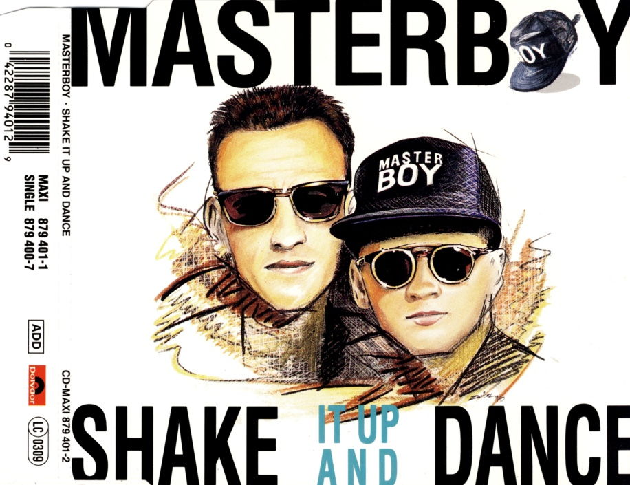 MASTERBOY - Shake It Up And Dance - CD Maxi