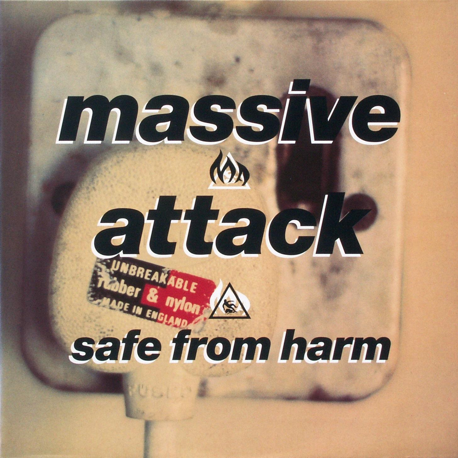 MASSIVE ATTACK - Safe From Harm - Maxi x 1
