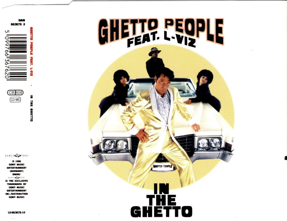 GHETTO PEOPLE FEAT. L-VIZ - In The Ghetto - MCD