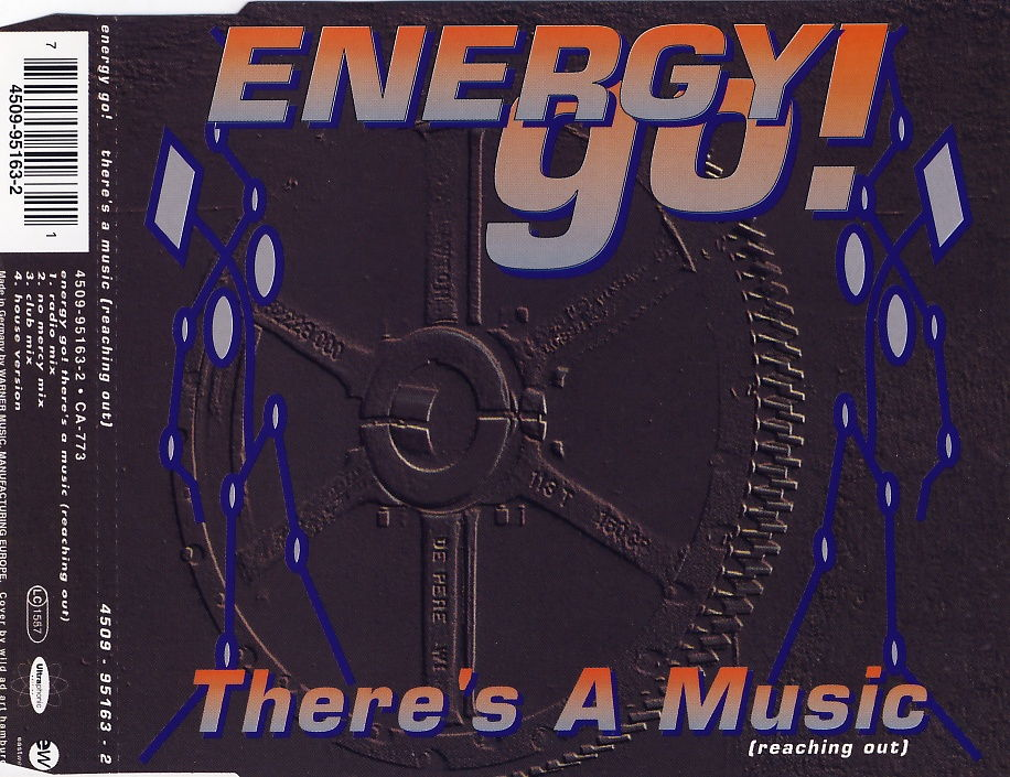 ENERGY GO - There's A Music (Reaching Out) - CD Maxi