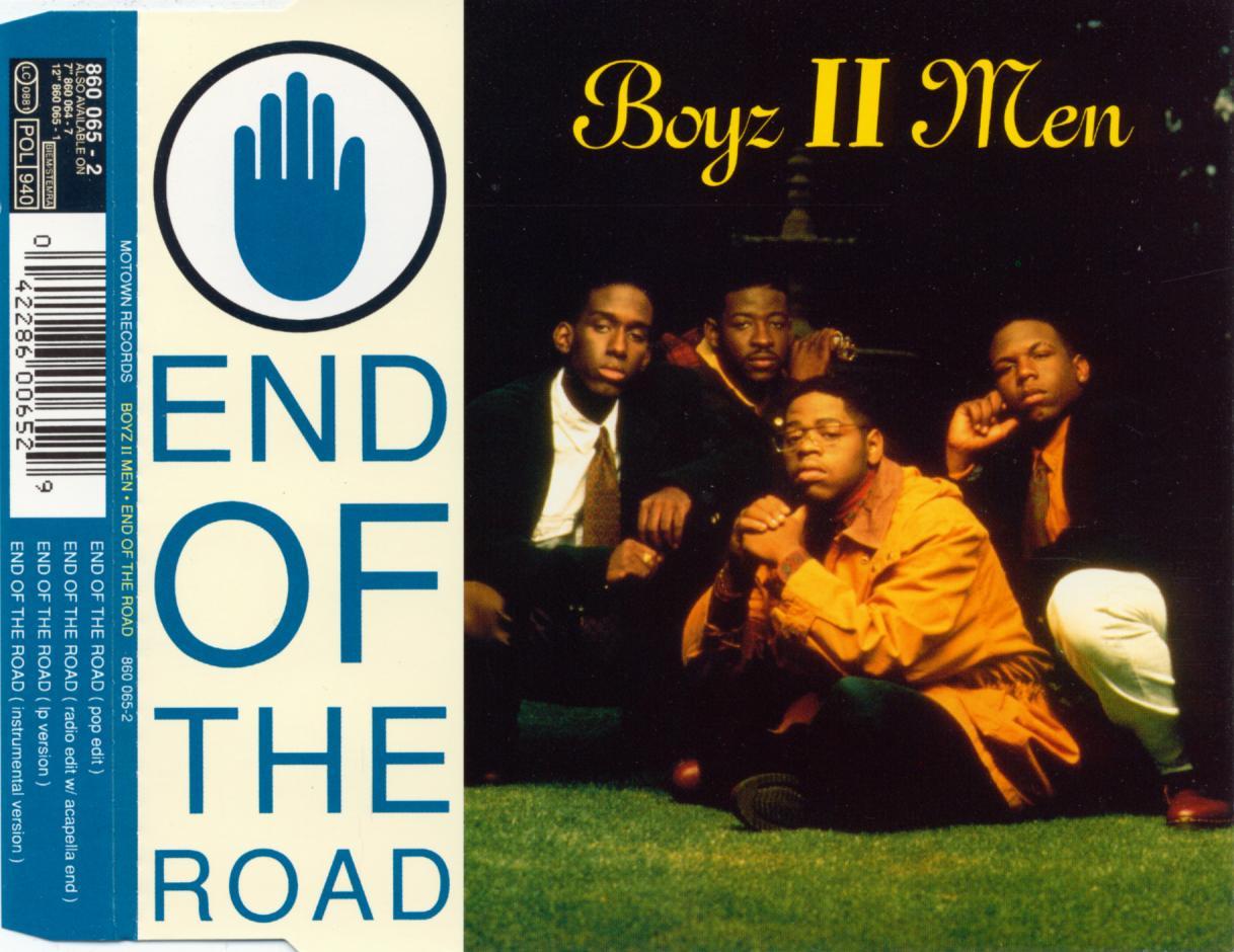 BOYZ II MEN - End Of The Road - CD Maxi