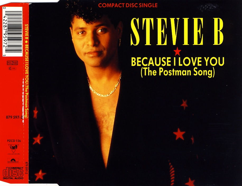 STEVIE B. - Because I Love You (The Postman Song) - CD Maxi