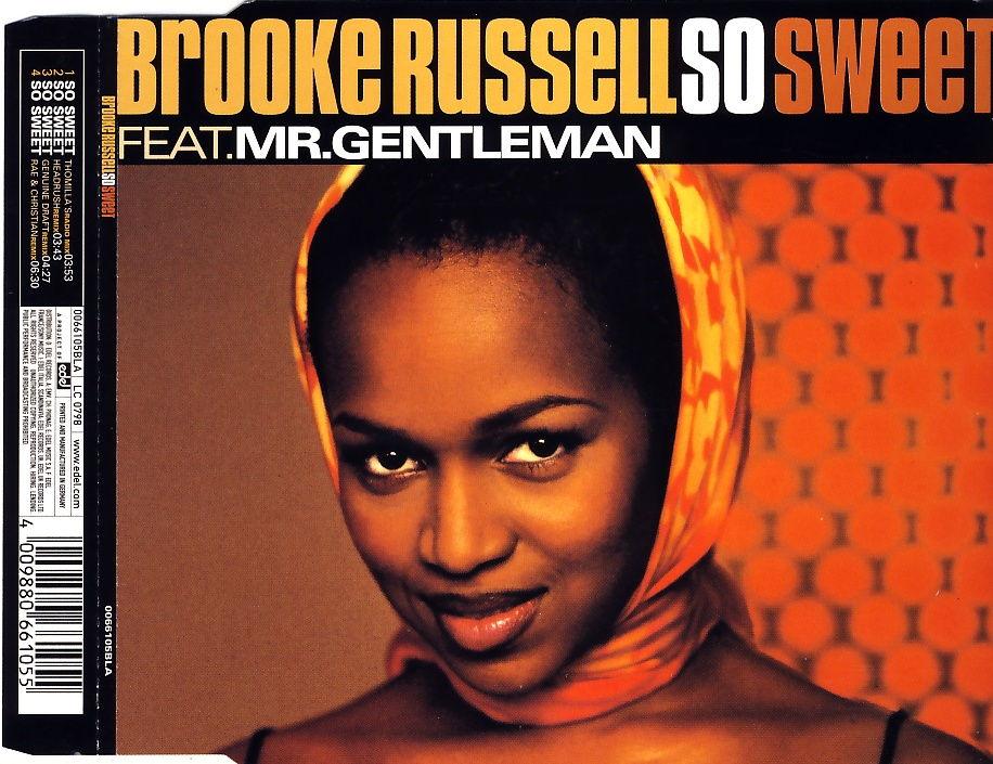 RUSSELL, BROOKE - So Sweet (feat. Mr. Gentleman) - CD Maxi