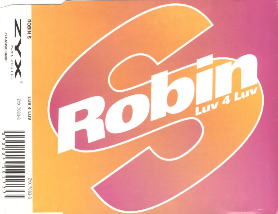 S., ROBIN - Luv 4 Luv - CD Maxi