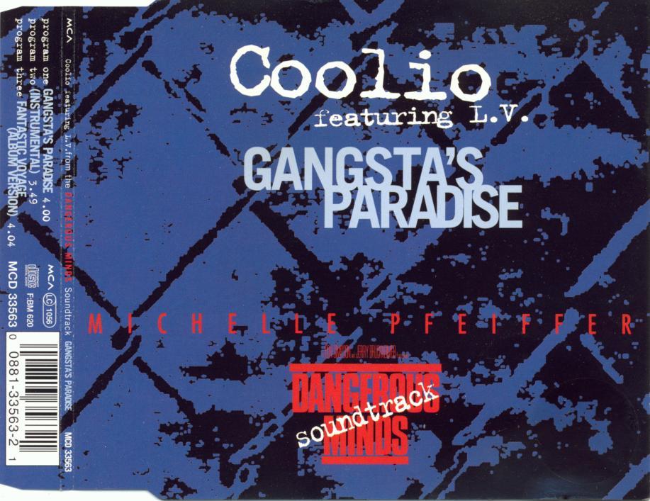 COOLIO - Gangsta's Paradise - MCD