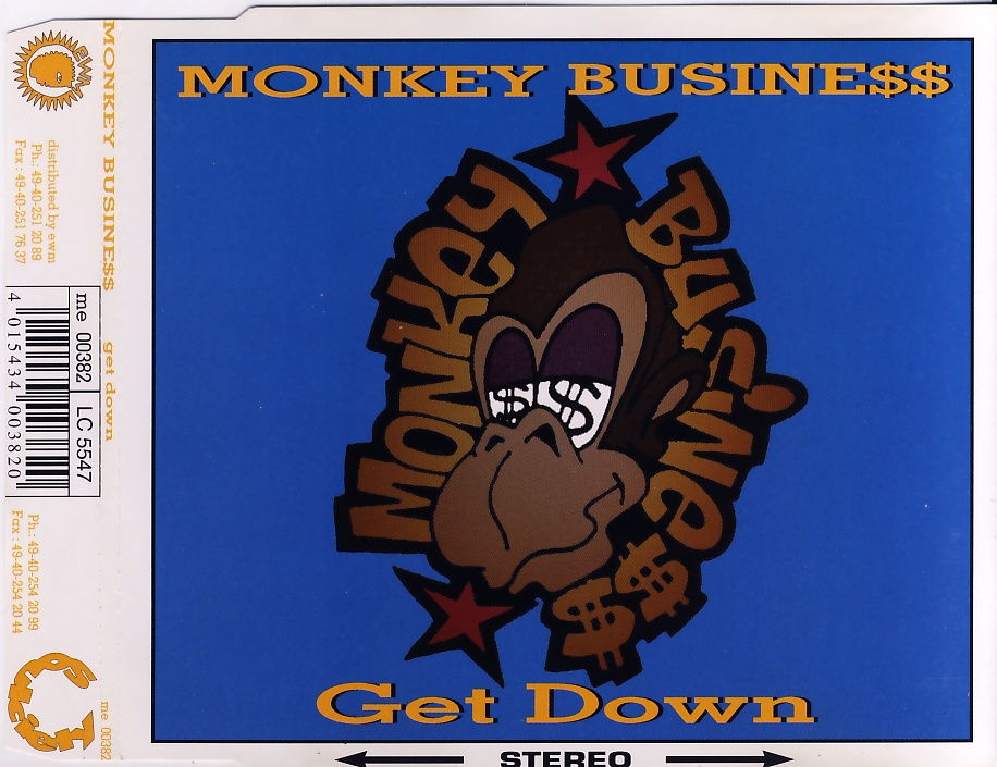 MONKEY BUSINESS - Get Down - CD Maxi