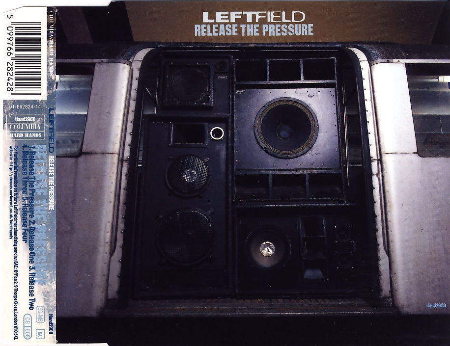 LEFTFIELD - Release The Pressure - CD Maxi