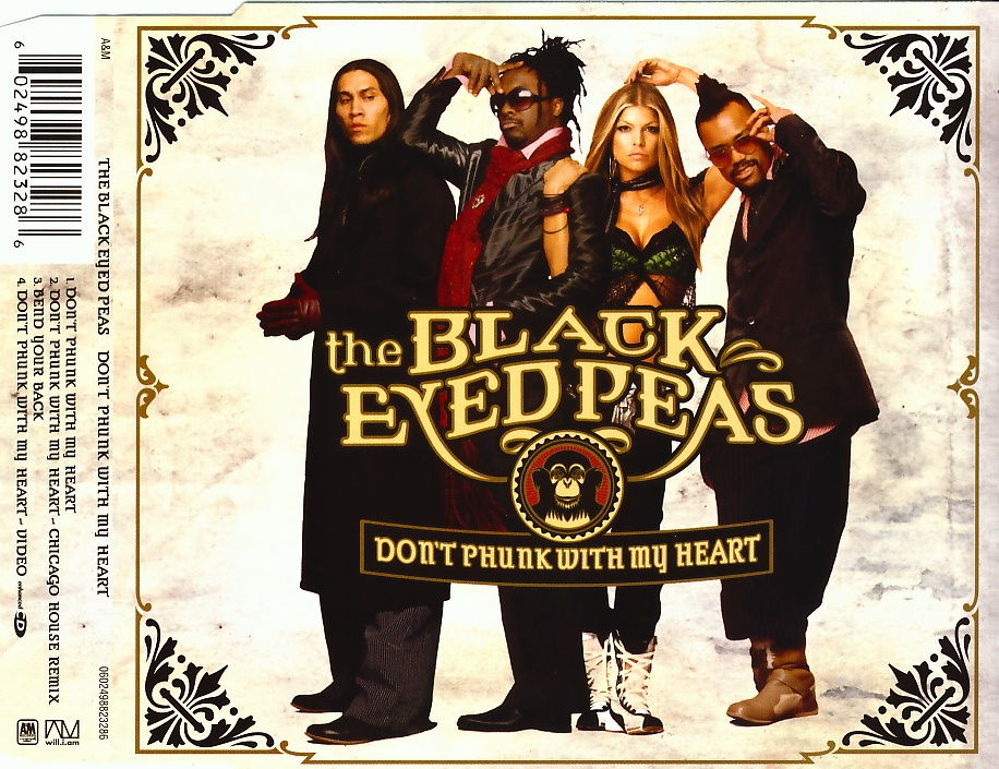BLACK EYED PEAS - Don't Phunk With My Heart - CD Maxi