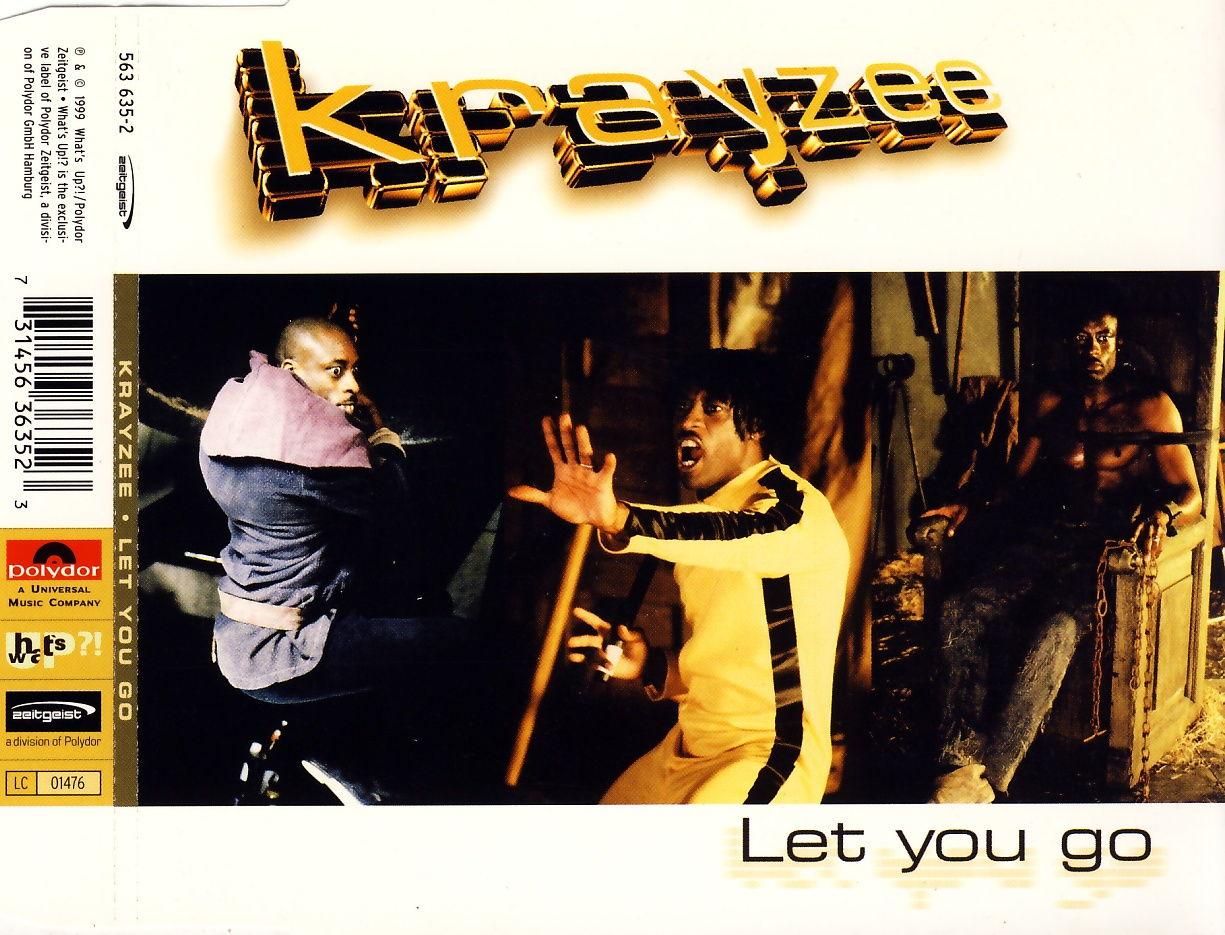 KRAYZEE - Let You Go - CD Maxi
