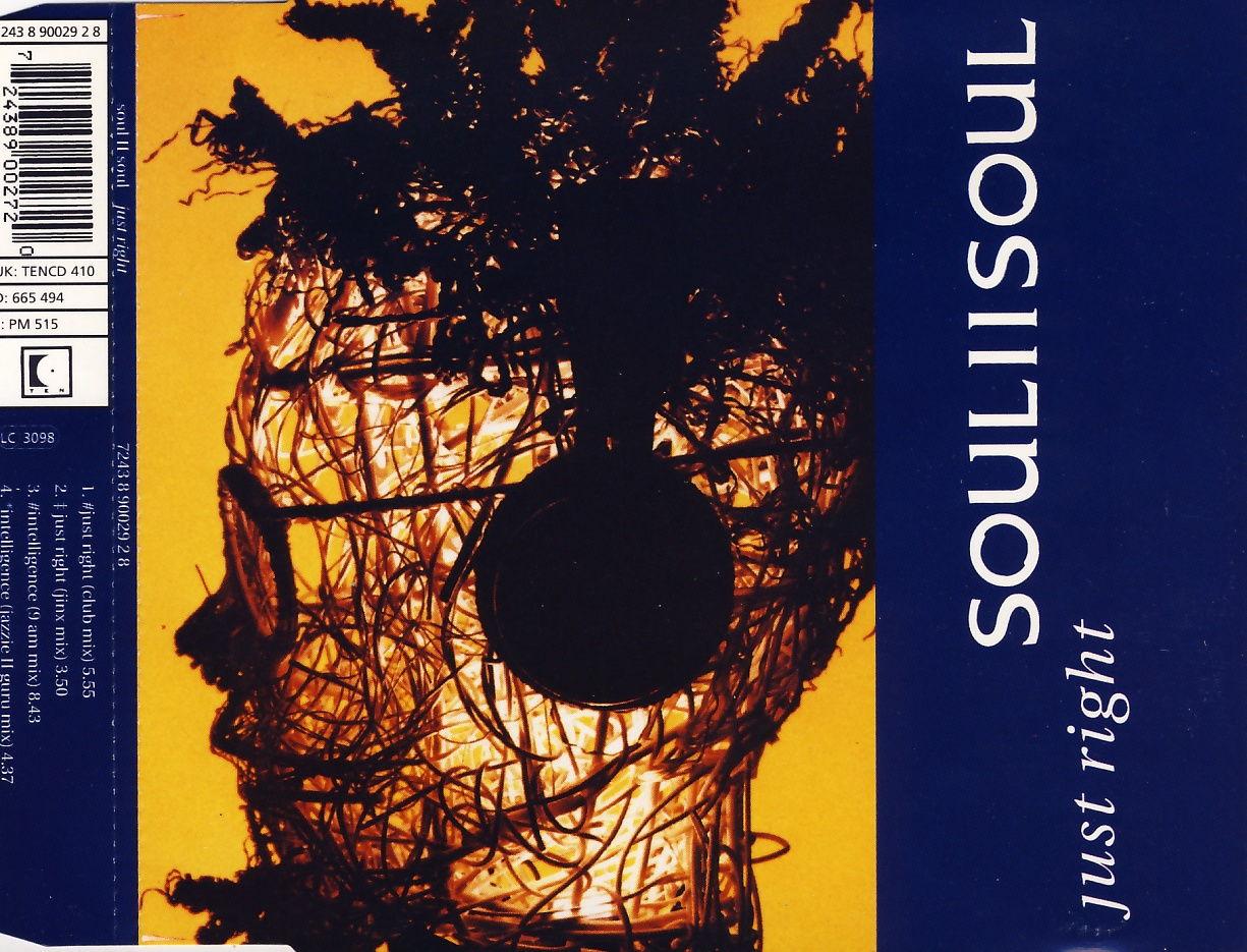 SOUL II SOUL - Just Right - CD Maxi