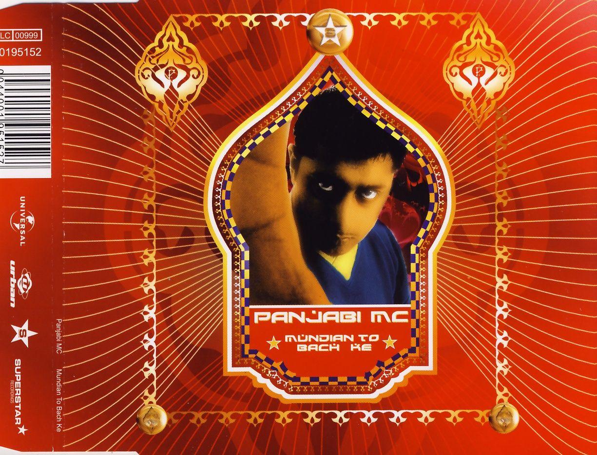 PANJABI MC - Mundian To Bach Ke - CD Maxi