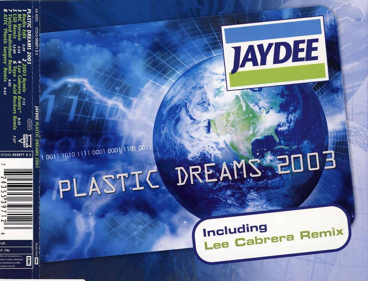 JAYDEE - Plastic Dreams 2003 - CD Maxi