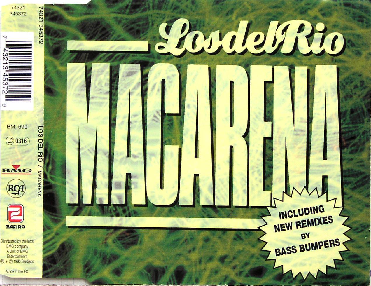DEL RIO - Macarena - CD Maxi