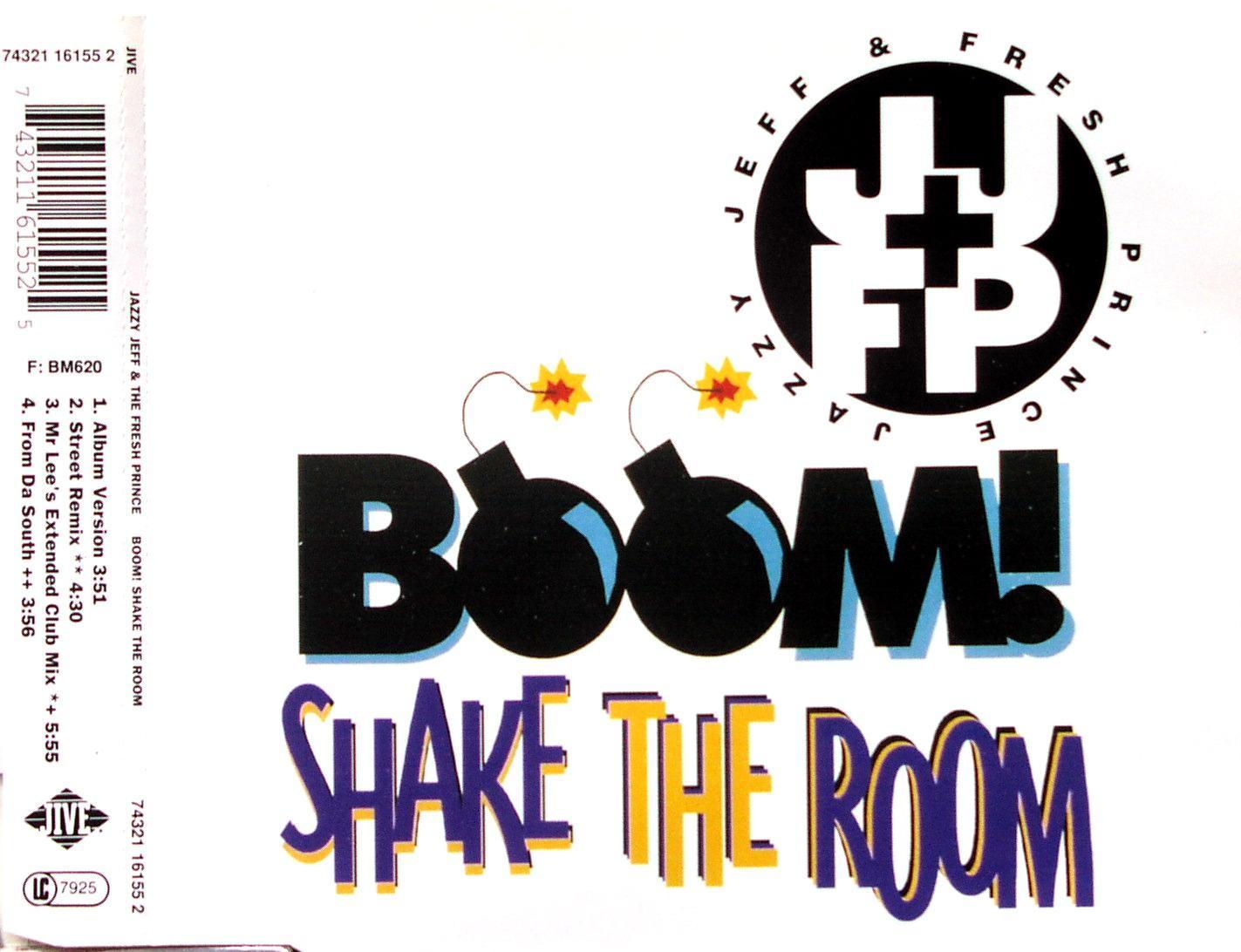 DJ JAZZY JEFF & FRESH PRINCE - Boom! Shake The Room - CD Maxi