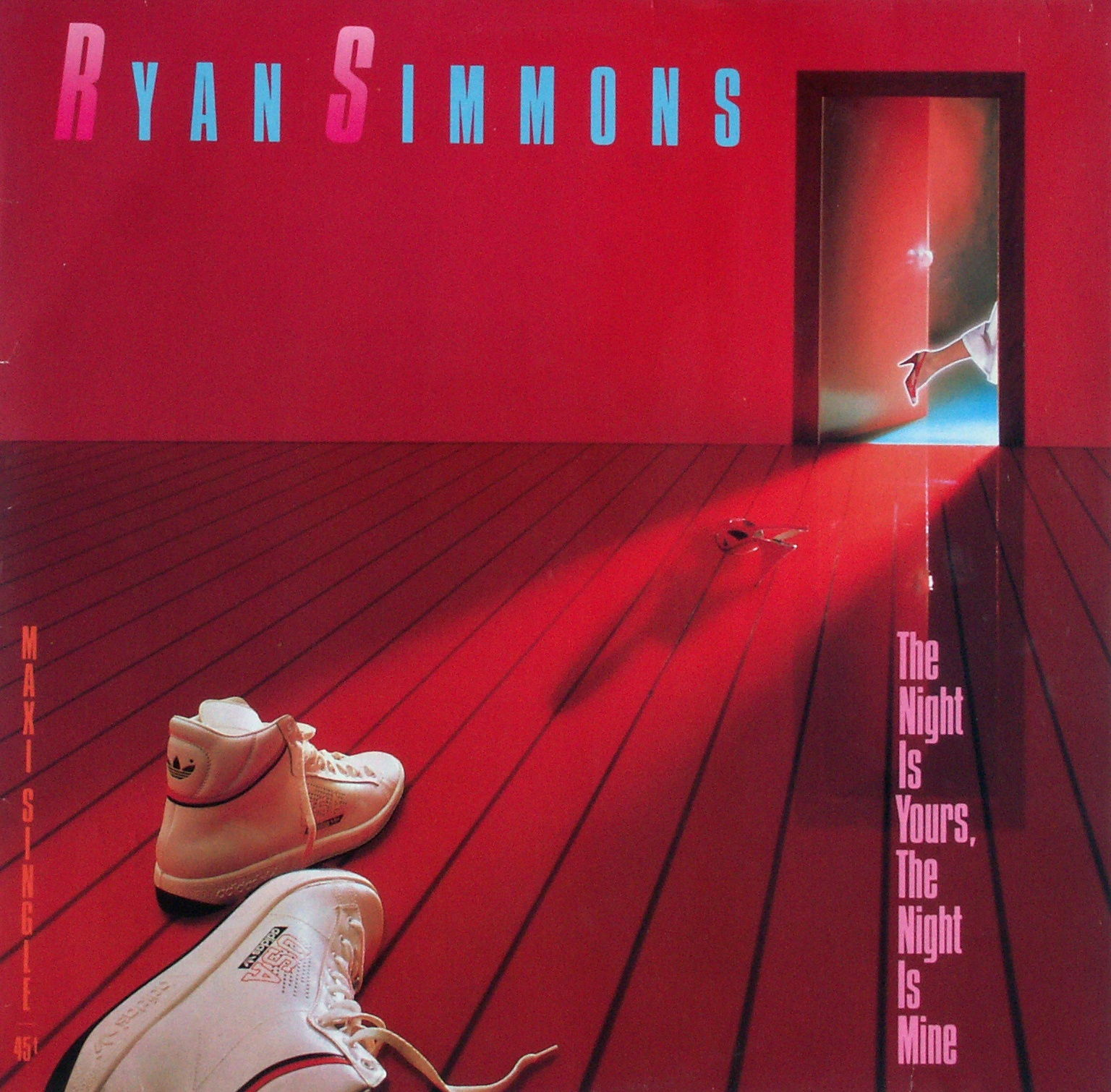 SIMMONS, RYAN - The Night Is Yours, The Night - 12 inch x 1