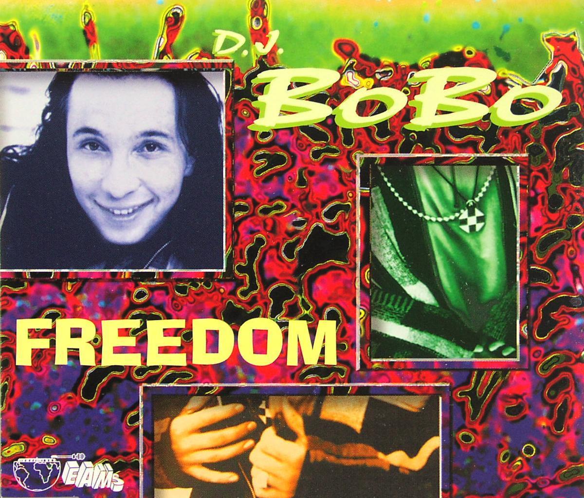 DJ BOBO - Freedom - CD Maxi