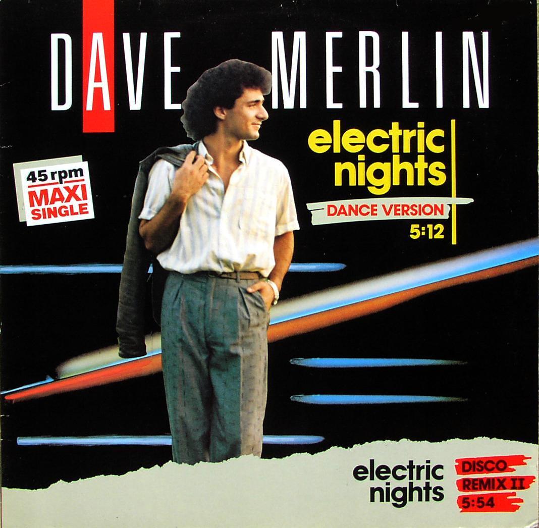MERLIN, DAVE - Electric Nights - Maxi x 1