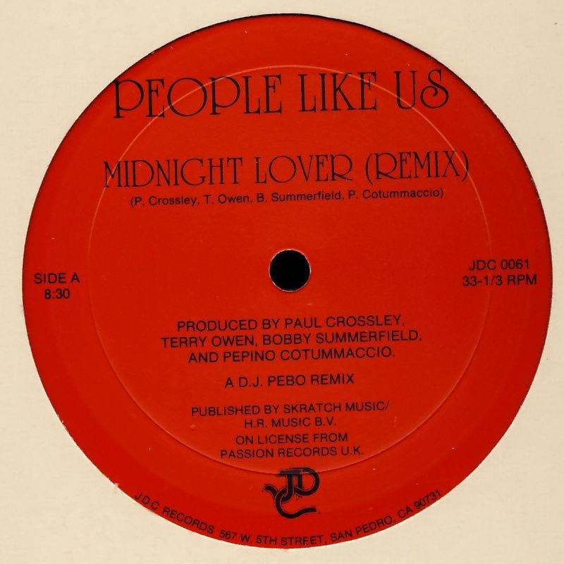 PEOPLE LIKE US - Midnight Lover - Maxi x 1