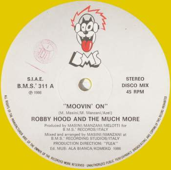 Robby Hood & The Much More - Movin' On
