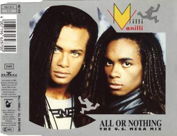 MILLI VANILLI - All Or Nothing - CD Maxi