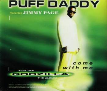 PUFF DADDY & JIMMY PAGE - Come With Me - CD Maxi