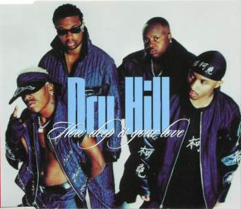 DRU HILL - How Deep Is Your Love - CD Maxi