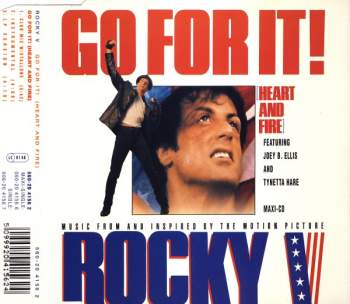 ELLIS, JOEY B. & TYNETTA HARE - Go For It (Heart And Fire) - CD Maxi
