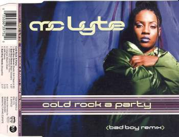 MC LYTE - Cold Rock A Party - CD Maxi