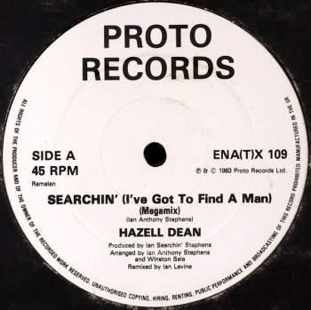 DEAN, HAZELL - Searchin' (I've Got To Find A Man) - Maxi x 1