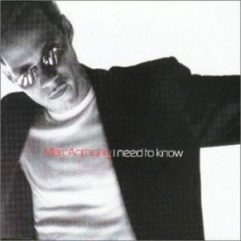 ANTHONY, MARC - I Need To Know - CD Maxi