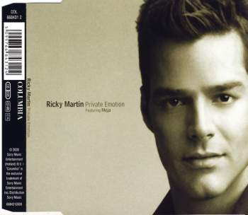 MARTIN, RICKY FEAT. MEJA - Private Emotion (with Meja) - CD Maxi