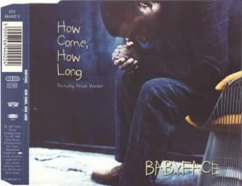 BABYFACE & STEVIE WONDER - How Come, How Long - MCD