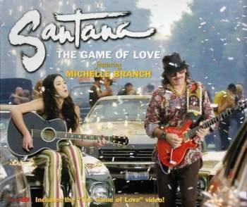 SANTANA - The Game Of Love - CD Maxi