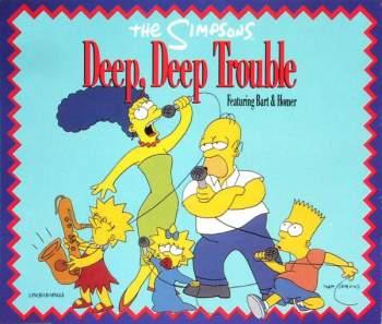SIMPSONS - Deep, Deep Trouble - CD Maxi